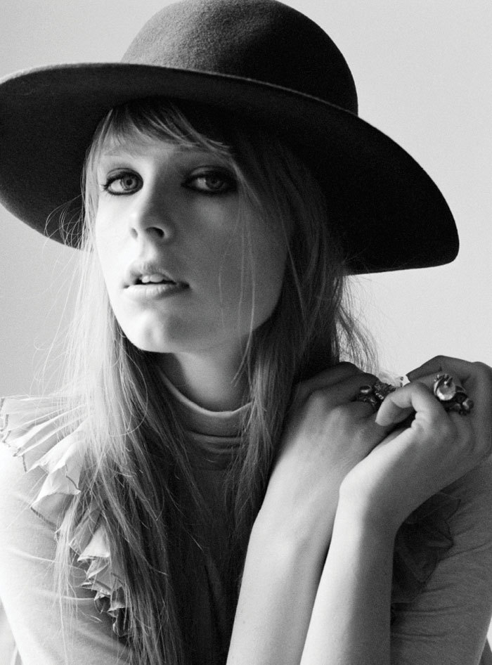 Boho Babe - Edie Campbell for Rika Magazine