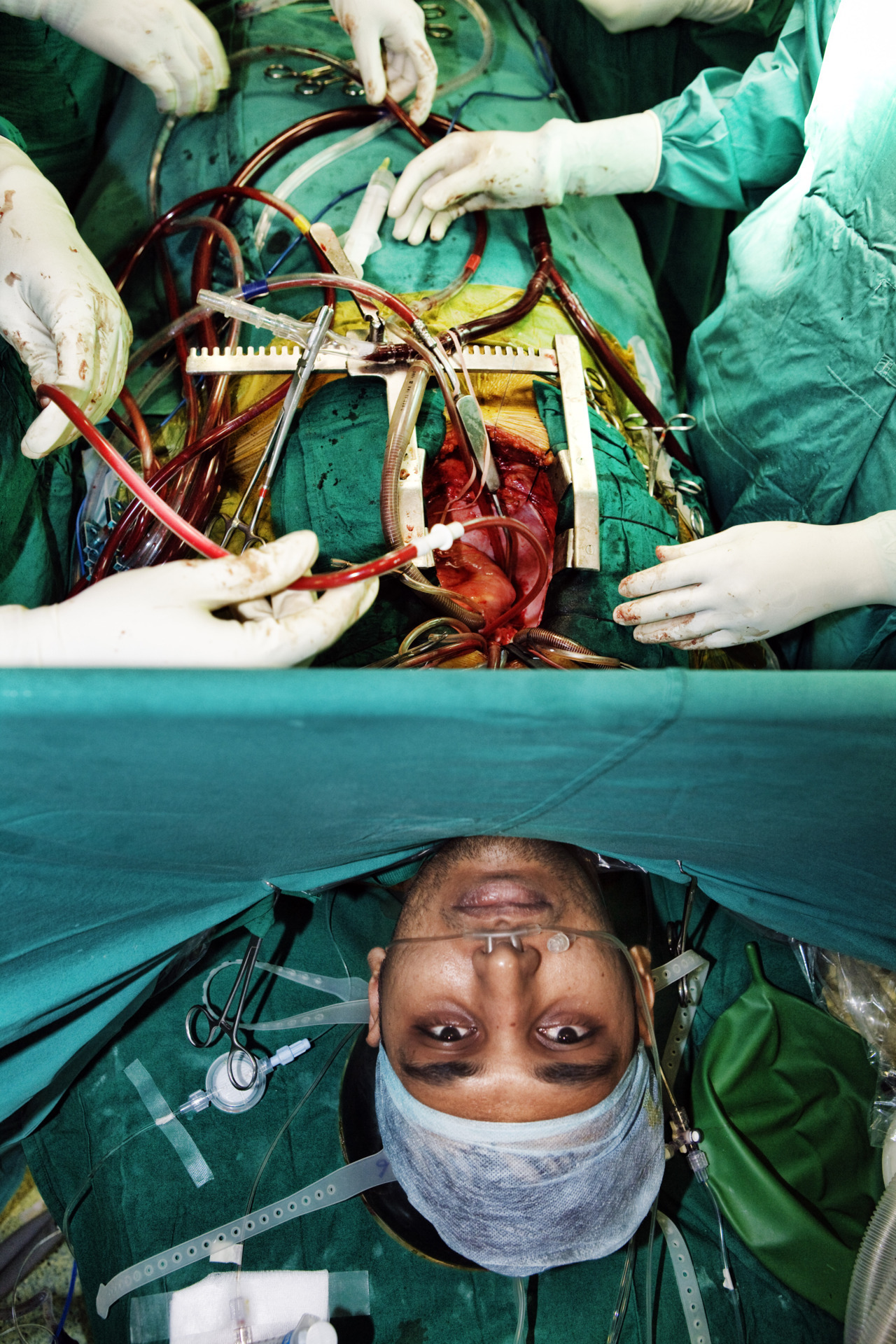 wonderfulmachine:  Surgery. Photo by Tom Parker/United Kingdom. Image selected for the Renaissance Photography Award show.