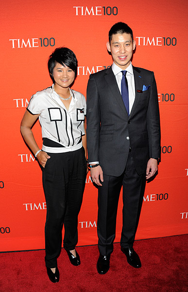Yani Tseng posed with Jeremy Lin of the New York Knicks at Tuesday's Time 100 gala in New York City. Tseng and Lin were both named to Time Magazine's list of the most influential people in the world. SENS: It's time the world got to know Yani TsengTIME.COM: Sorenstam on what makes Yani great (Credit: Evan Agostini/AP)