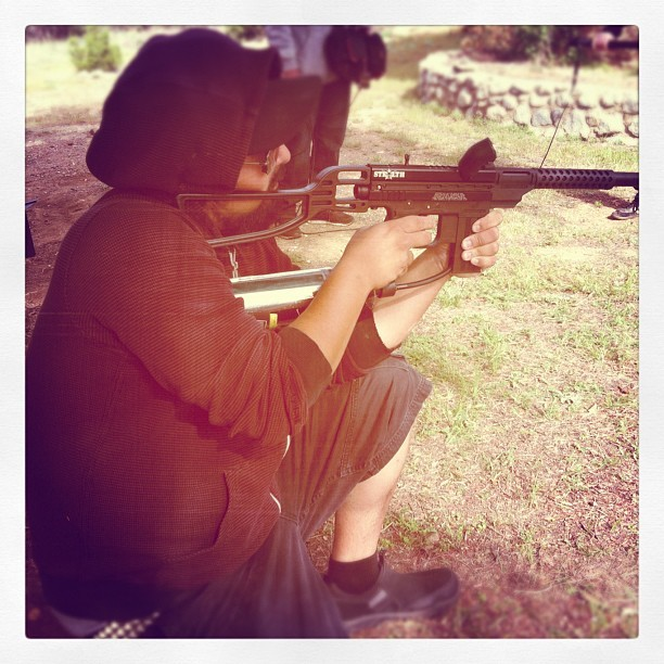 Sniper time for Noof! (Taken with instagram)