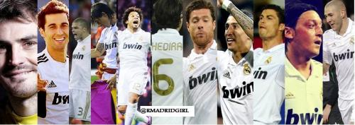 rmadridgirl:  Real Madrid XI
