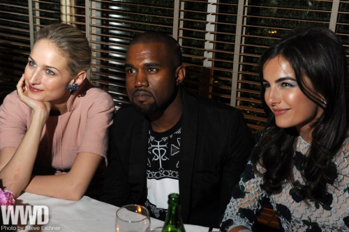 Leelee Sobieski, Kanye West  & Camilla Belle at Chanel's annual TriBeCa Film Festival Artists Program dinner