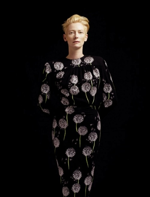 Tilda Swinton and David Bowie are the same person. That explains a lot.