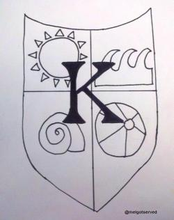 melgotserved:  The Kremer Coat of Arms: Fan art inspired by Who Charted Episode 73: Ooey Gooey Sui with Natasha Leggero