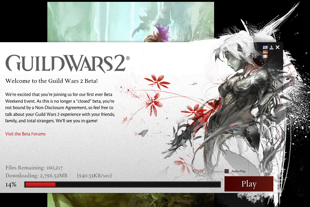Guild Wars 2 beta weekend, no big deal….   spazzing like a little girl ;jlkagj;glsaajs;ggja;j;gak