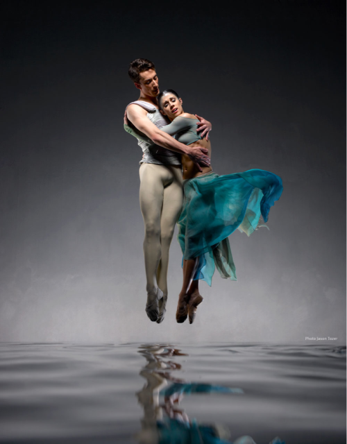 Tobias Batley & Martha Leebolt as Brand & Ondine. Photo by Jason Tozer. More images and info at http://northernballet.com/Ondine