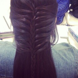 Mermaid :D #mermaidbraid #braid #pretty #cute @prettyrose12 (Taken with instagram)