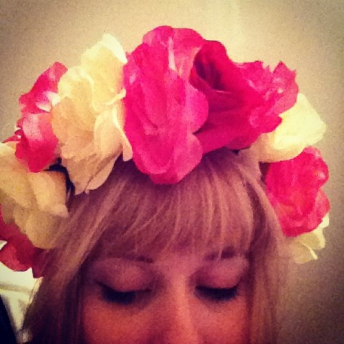 Lana Del Rey vibes #flowercrown (Taken with instagram)