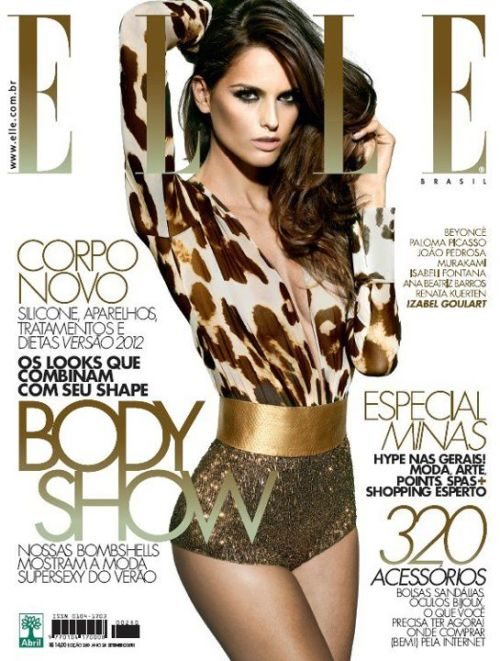 they.call.it.fashion - covers izabel goulart . elle brasil . april 2012