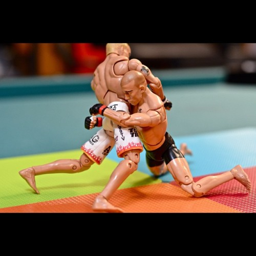Takedown (Taken with Instagram at UFC 🏆 (5 of 16))