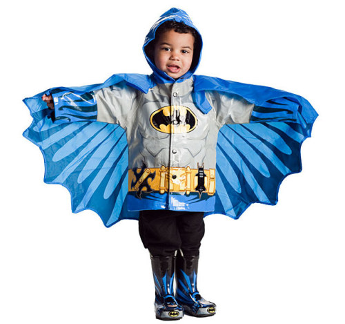 Super hero raincoats for kids. I think my ovaries just exploded.