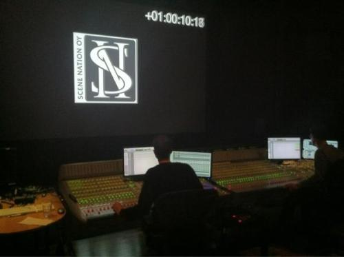 thedarkchestofwonders:  @StobeHarju Sound mixing first day.