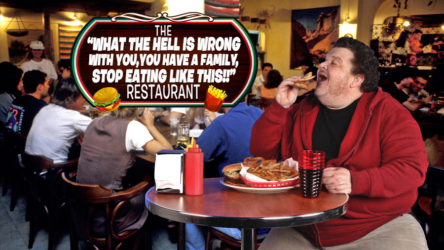 "Inspired by the Heart Attack Grill, it's the ""What the Hell is Wrong with You, You Have a Family, Stop Eating Like This"" Restaurant! [Slideshow]"