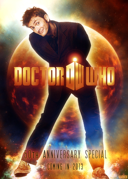 hardlyalec:  The Tenth Doctor returns.