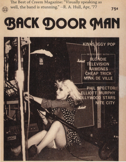 Back Door Man magazine, 1970s.