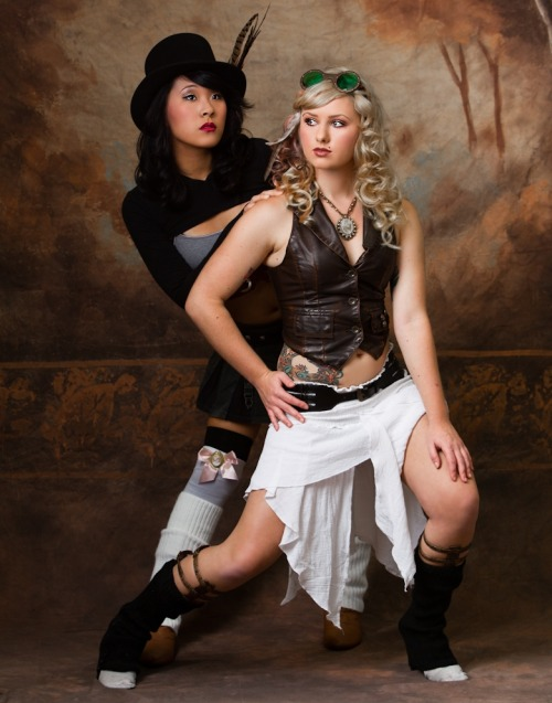 http://www.facebook.com/pages/LADIES/180927578670482 Steampunk Beauties of the day! For more steampunk fun, check out http://steampunkguides.com/