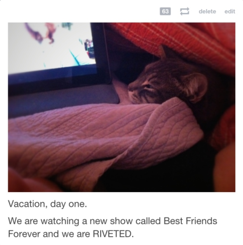 Further proof Best Friends Forever is our new favorite show.