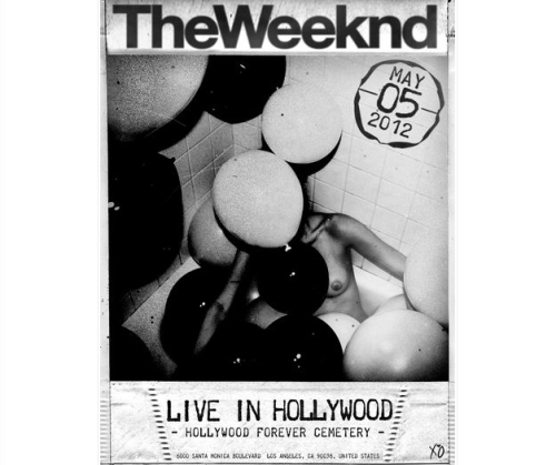 Officially seeing The Weeknd live. FINALLY. <3 XO