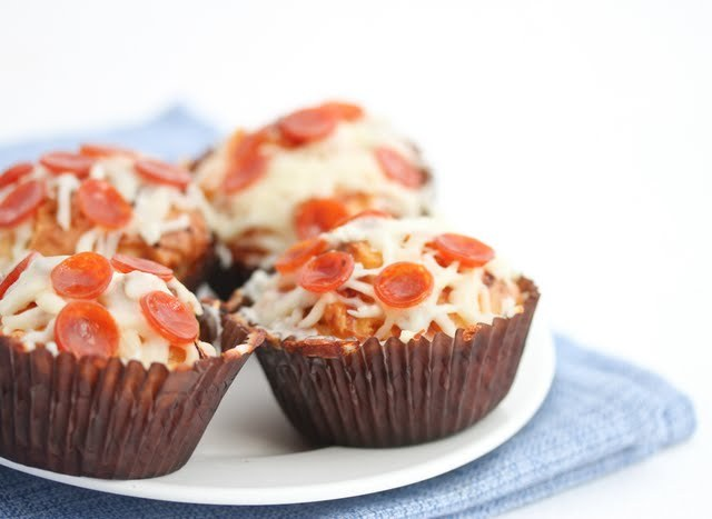laughingsquid:  Pizza Cupcakes