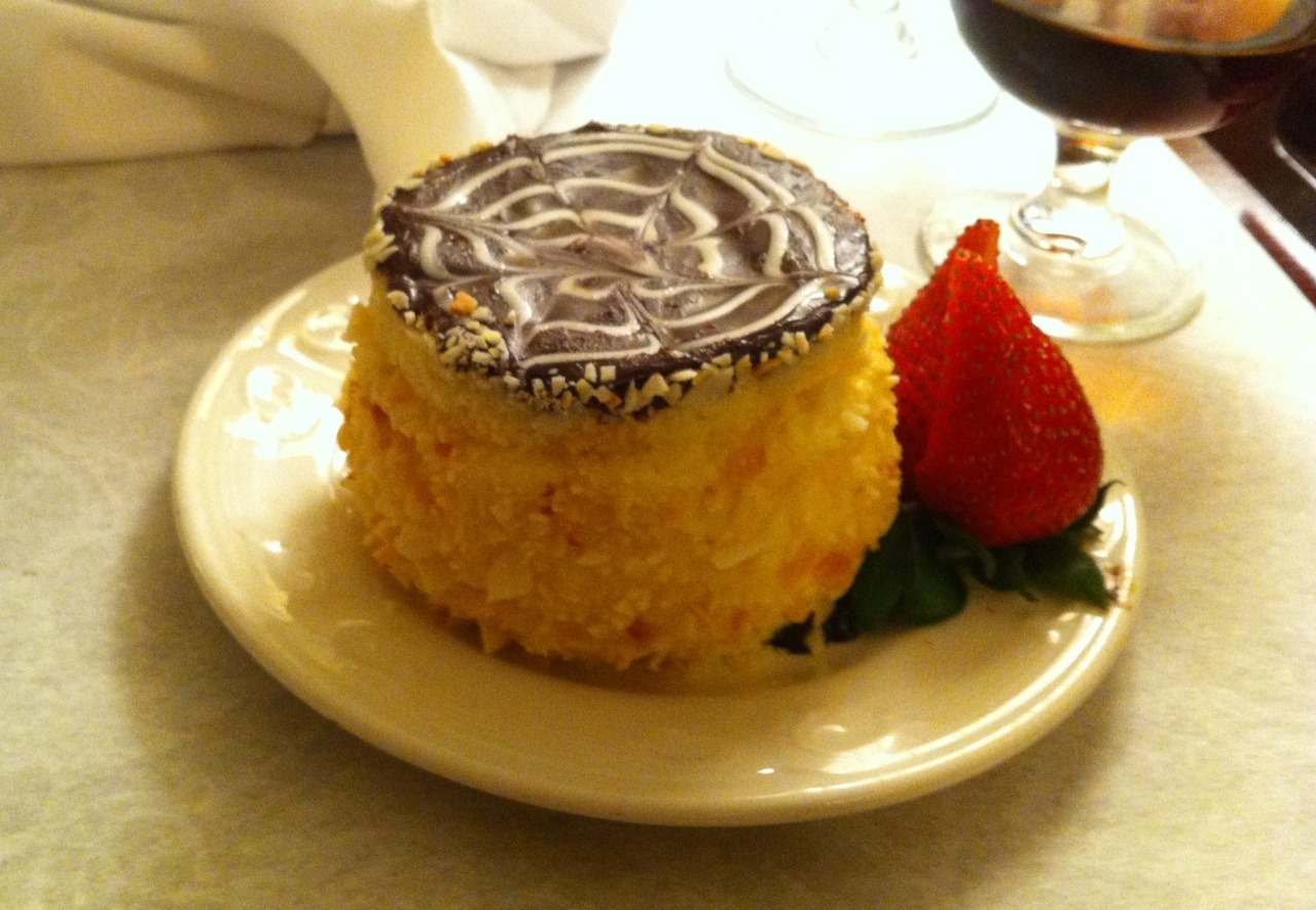 evan:  I'm in Boston, staying at the Omni Parker Hotel, where Boston Cream Pie was invented. Not gonna lie — these days I basically choose my hotels based on dessert potential.