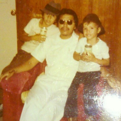 back in the day… brotha,pops,& me… (Taken with instagram)