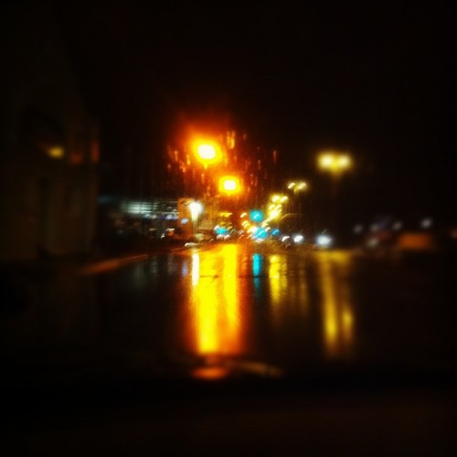 Leeds lights.  (Taken with instagram)