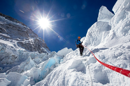 davesingh:  Serious blogging, Mt. Everest has a 3G network now.  Live blogging happening now on the 29,029 ft ascent.