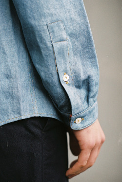 God bless denim. #menswear