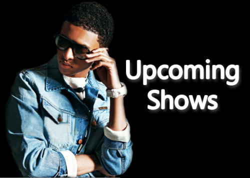 ATTENTION JETSETTERS! Below are Diggy's upcoming shows/events. Check out if he's coming near you and get your tickets!April 29th - Cleveland, Ohio [Tickets]  State TheatreMay 4th - Raleigh, North Carolina  [Tickets] Progress Energy Center Raleigh Memorial Auditorium Diggy, Jacob Latimore, OMG Girlz May 5th - Houston, Texas [Tickets]Montagne Center4400 South M L King Junior ParkwayOpener: Lil Chuckee May 5th - Houston, Texas [Tickets]Funplex Center13700 Beechnut Street May 6th - Minneapolis, Minnesota [Tickets]110 North 5th Street Diggy, Jacob Latimore, OMG Girlz May 11th - Nyack, New York [Signing!]DTLR in Palisades MallMay 12th - Carson, California [Tickets]102.3 KIIS-FM Wango Tango 2012The Home Depot Center May 18th - Macon, Georgia [Tickets]Macon Centreplex Coliseum June 1st - Camden, New Jersey [Tickets]WRDW Radio ShowSusquehanna Bank Center June 2nd - Mansfield, Massachusetts [Tickets]JAM'N 94.5 presents Summer Jam 2012Comcast Center June 22nd - Columbus, Georgia [Tickets]Columbus Civic Center