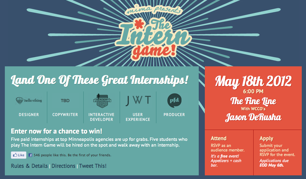 The Intern Game