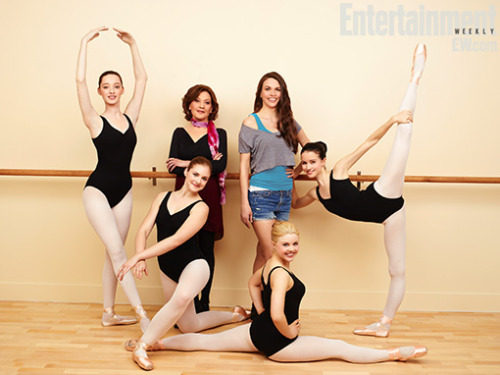 entertainmentweekly:  Meet the ladies of Bunheads, a new show from Gilmore Girls creator Amy Sherman-Palladino. The series follows a group of aspiring dancers in a small town; it stars two-time Tony Award-winning actress Sutton Foster as a showgirl who leaves Vegas to work at her mother-in-law's dance studio. It premieres June 11 on ABC Family. Sound like something you'd watch, Tumblrers?  I'm not usually a fan of ABC Family shows, but I'm obsessed with Sutton Foster and Kelly Bishop is a BAMF and Gilmore Girls is the best television show that ever graced the planet so…
