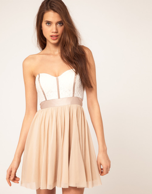 lolobu:  ASOS Skater Dress With Lace Bustier on @LoLoBu - http://lolobu.com/o/1534/