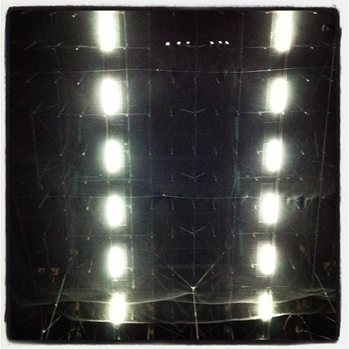 Techo Tron de El Plaza (Taken with instagram)