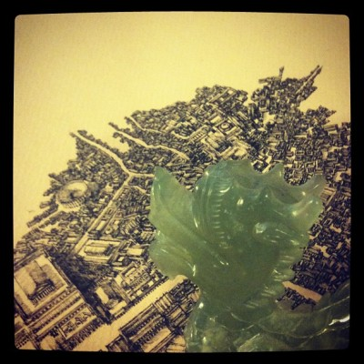 bensack:  Attack of the Jade Dragon! (Taken with instagram)
