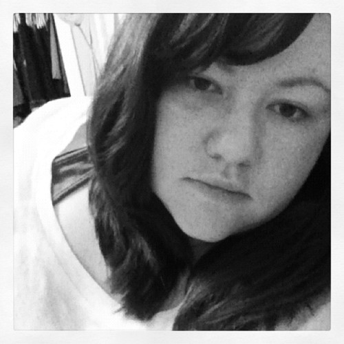 I look like poop, but you get the idea of how short it is. #haircut #gpoy (Taken with instagram)