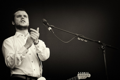 Harry McVeigh, White Lies - Pinkpop 2011.