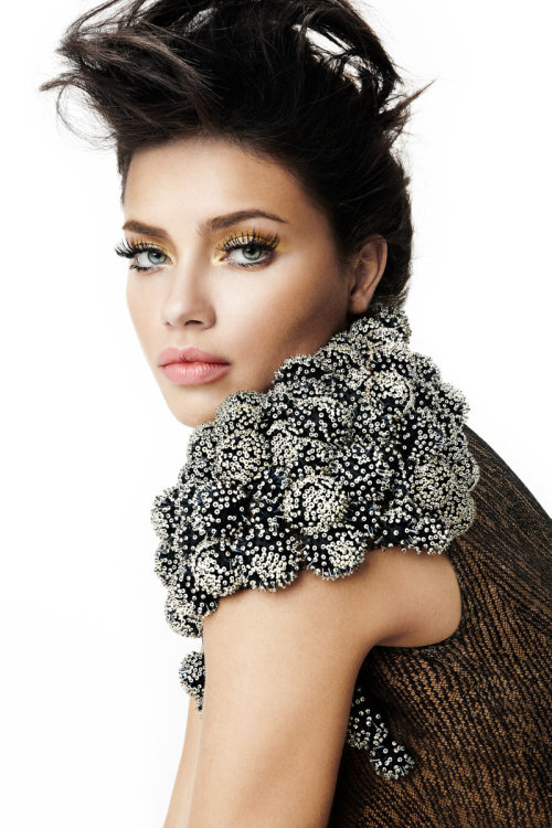 they.call.it.beauty - editorial adriana lima . vogue brasil . february 2011
