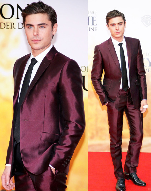poisonparadise:  Zac Efron | The Lucky One PremiereBERLIN, GERMANY | 4.25.12