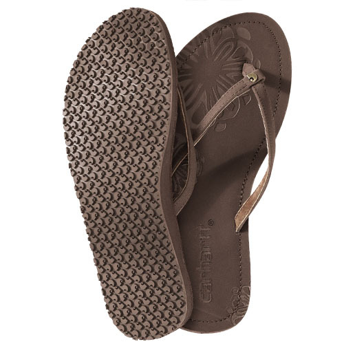 Attention ladies: keep your feet cool and comfortable this summer with the new Carhartt WA076 Mackinac Nubuck Flip Flop. If you those aren't your style try the WA069 Marquette Flip Flop. http://bit.ly/JA2SNN