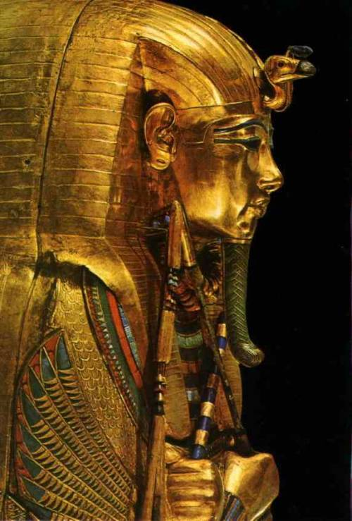 elhieroglyph:  Coffin of Tutankhamun