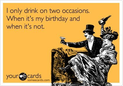 hhahha yesssss!!!! happy birthday to me indeed!