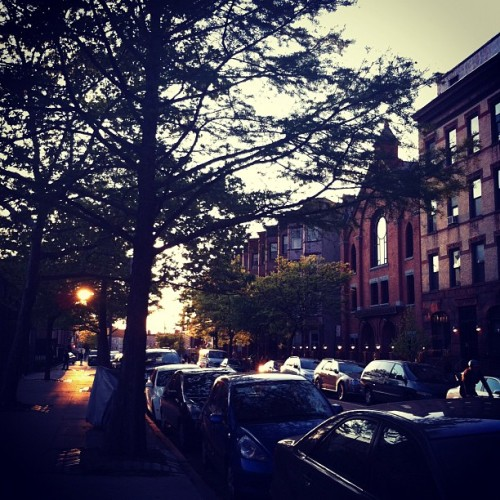 sunset #brooklyn  (Taken with instagram)
