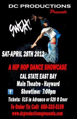 Catch us at the FBC Showcase this Saturday, Cal State East Bay (Hayward) Main Theater 7pm Advanced tickets $15 available at www.dcproductionspresents.com or call 650-333-5159