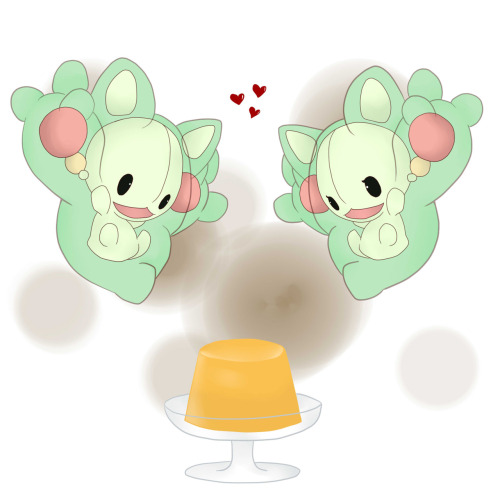 cute-pokemon:  [source] Pudding~