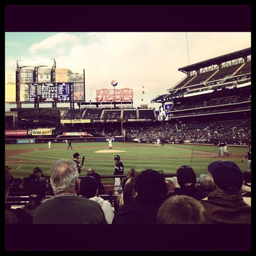 Row 4? I'll take it…Crossing the Mets & Citi Field off my NYC bucket list!