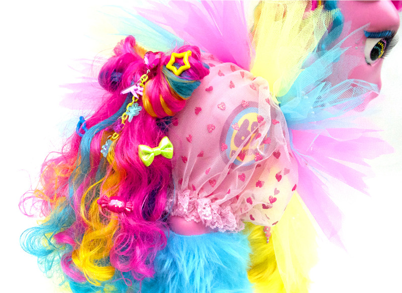 Sneak peek: My Little Pony by Japanese fashion brand 6%Dokidoki. (Check out that cutie mark!)