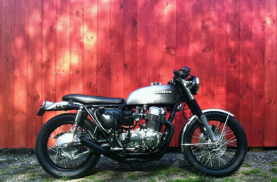 Some recent Honda cb750 updates:+ dyna coils+ dyna electronic ignition+ dynatek spark plug wire set+ chopped front fender (not shown)+ changed oil