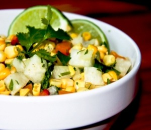 findvegan:  Fresh Mex Corn Salad