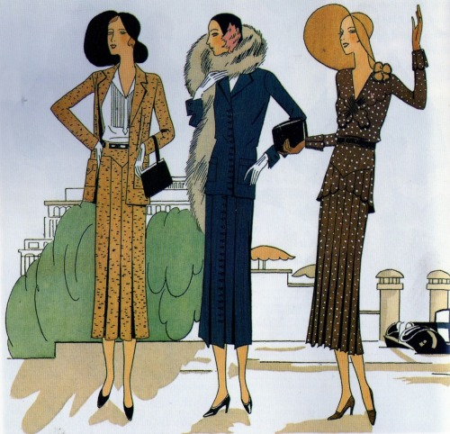 lilliesandremains:  Day Wear (1930)
