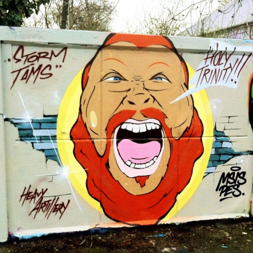 Action Bronson by Storm of Heavy Artillery @ Christiania, Copenhagen, April 2012  Photo: Crisp Beats
